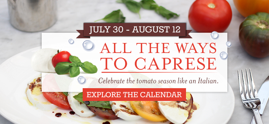 All the Ways to Caprese at Eataly Chicago