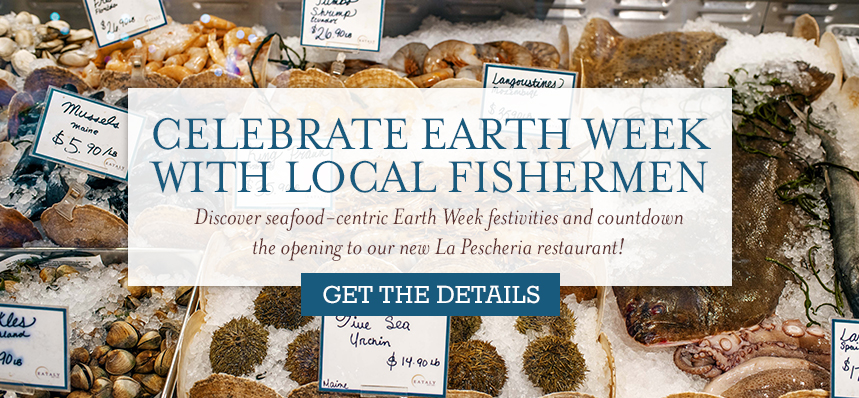 Earth Week Events: Fish Auction, Boston Fishermen & Local Seafood