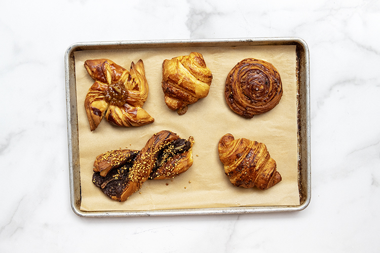 pastries at Caffe Lavazza at Eataly NYC Flatiron