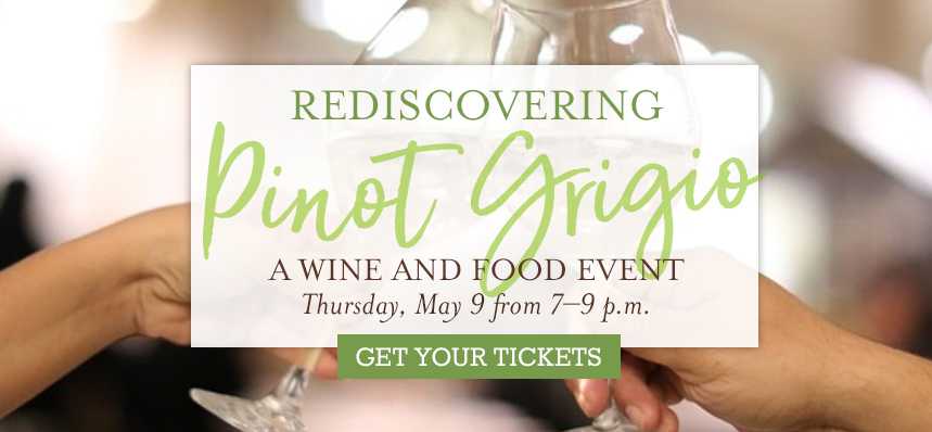 Rediscovering Pinot Grigio: A Wine & Food Festa