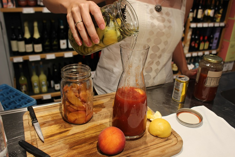 how to infuse vodka