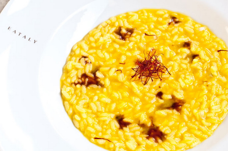 cheese risotto, a classic Italian winter food