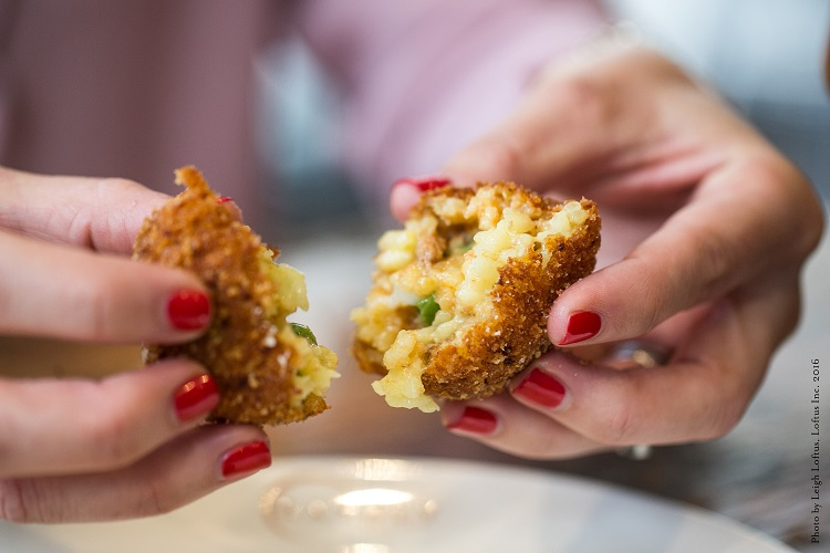 Arancini Fried Rice Balls | Top Recipes of 2018 Eataly Magazine | Photo credit is Leigh Loftus, Loftus Inc. 2016
