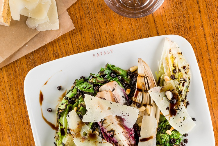 grilled chicory salad eataly