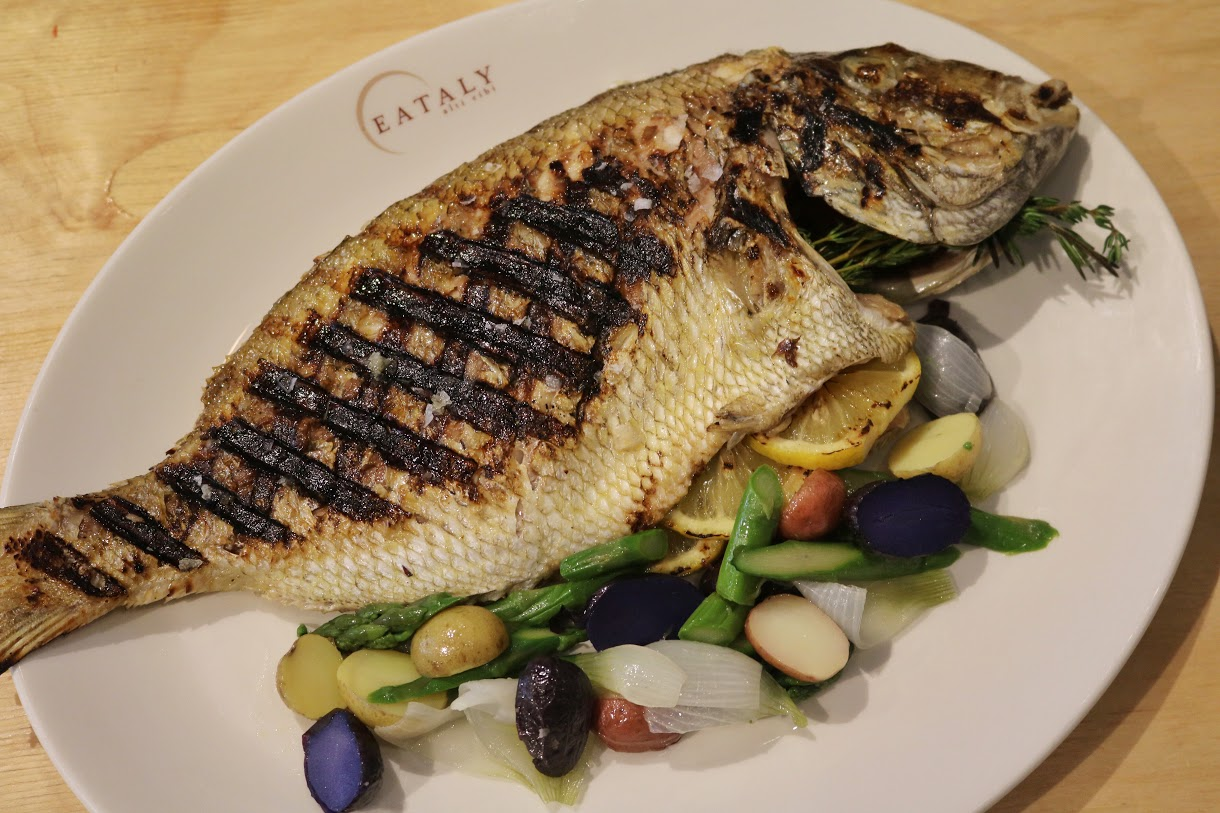 grilled fish - porgy 3