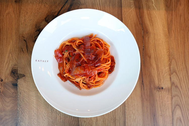 Bucatini all Amatriciana pasta