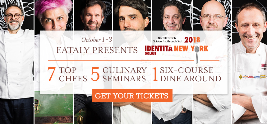 Meet World-Renowned Chefs at Eataly NYC Flatiron