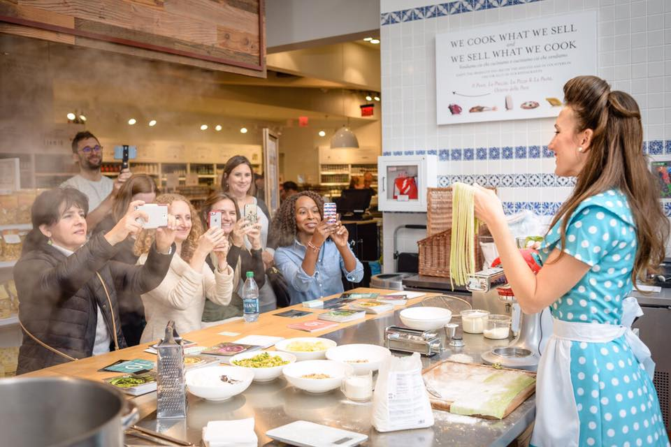 Complimentary Cooking Class with Italicana Kitchen | Eataly