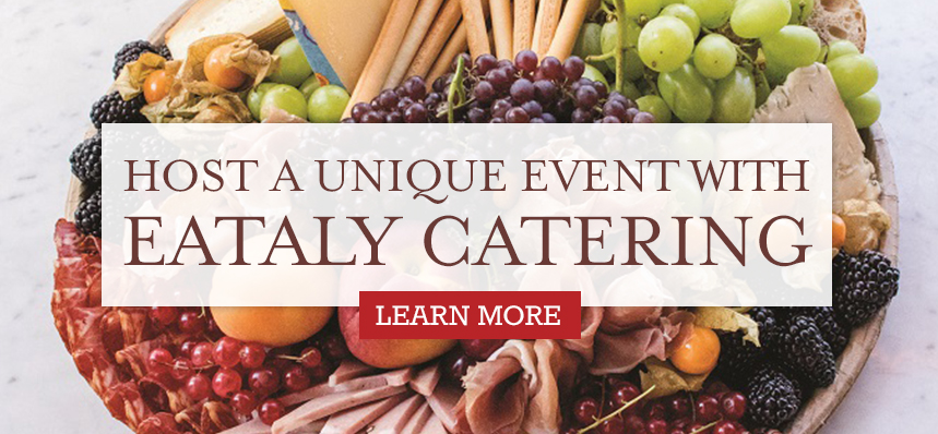 Catering at Eataly NYC Downtown