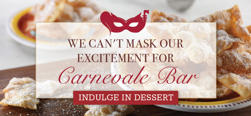 Indulge at Carnevale Bar