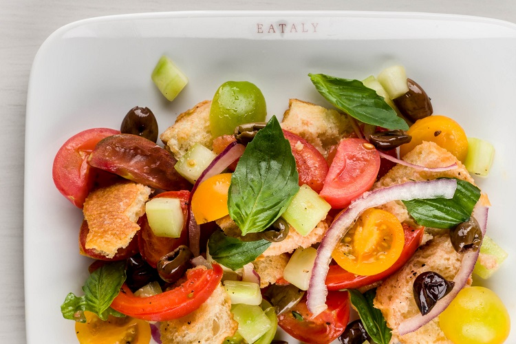 Panzanella, a Tuscan bread salad from Eataly