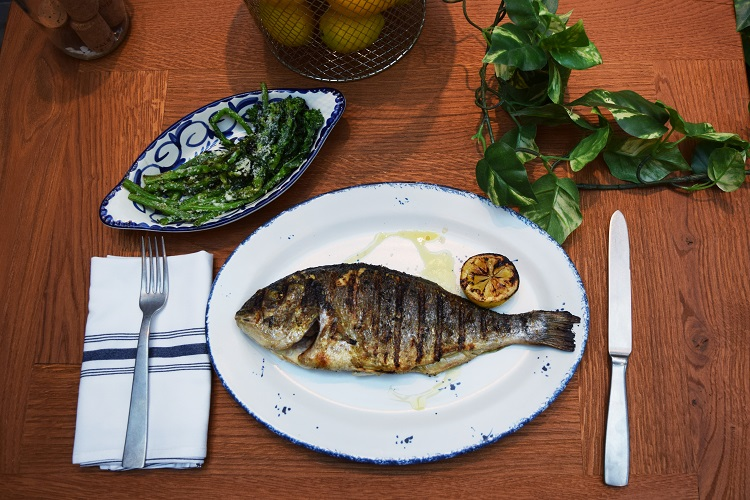 fish grilled pesce terra