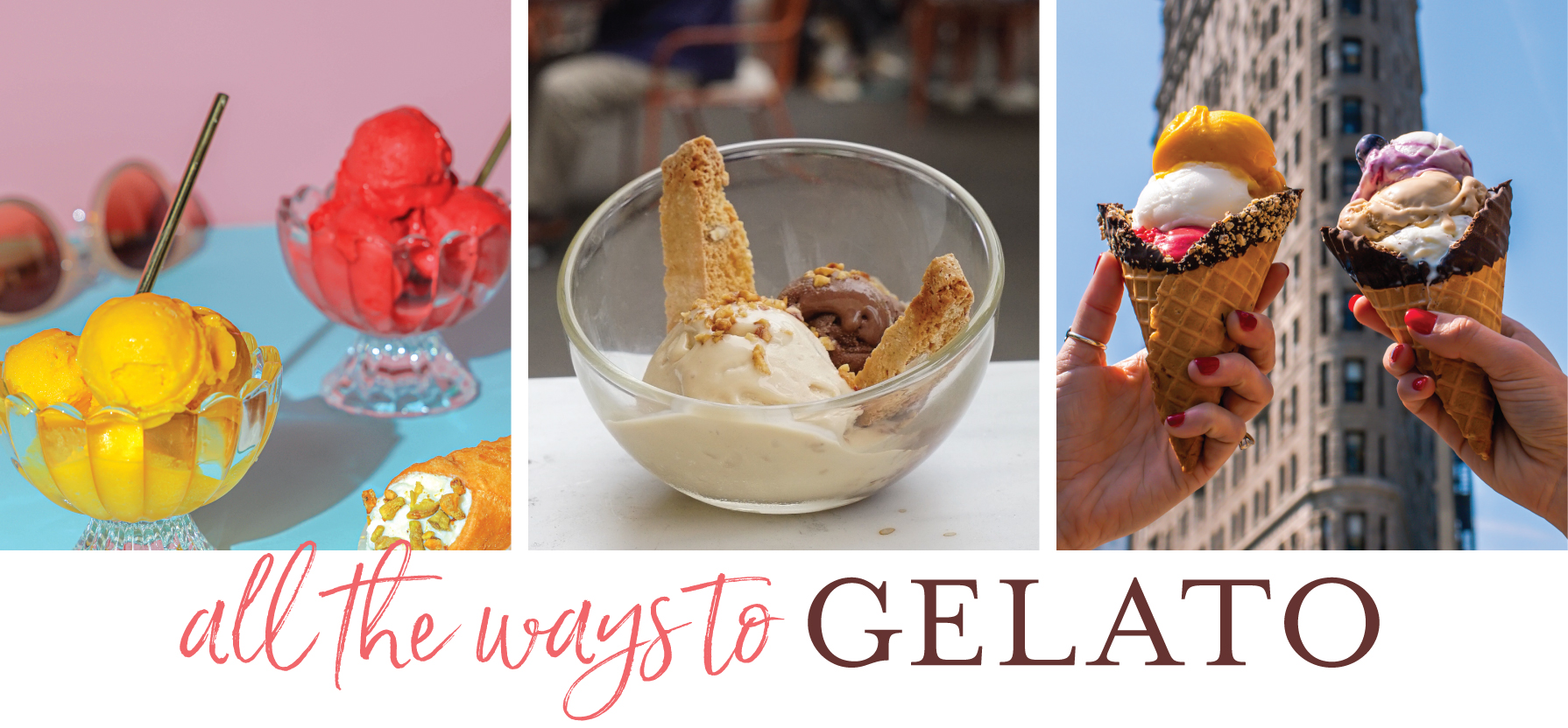 All the Ways to Gelato in NYC