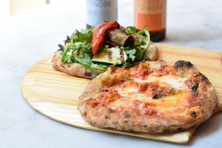 Quattro Mani: Pizza Pairings with Moody Tongue