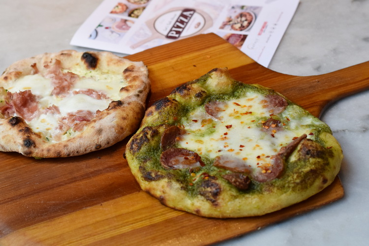 Quattro Mani: Pizza Pairings with CH Distillery