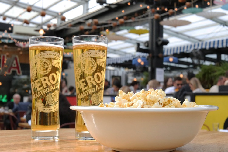 Movies on the Roof with Peroni
