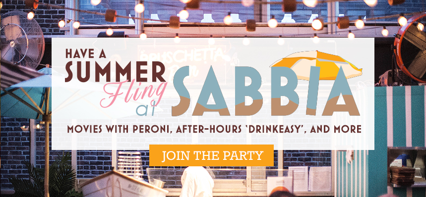 Summer Nights at SABBIA on the Roof