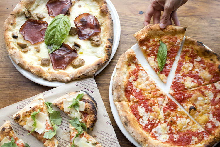 Authentic Italian Pizza at Eataly