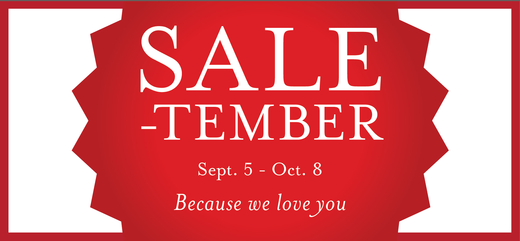 Sale-tember at Eataly USA