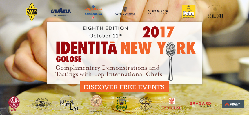 Identità Golose 2017 at Eataly NYC Downtown