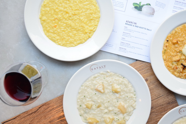 Warm Up with Risotto