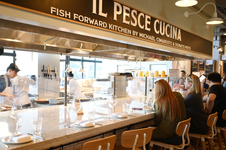 Il Pesce Cucina: Eataly's seafood restaurant in Los Angeles