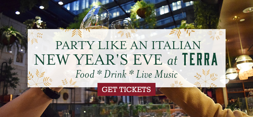 5 Reasons to Celebrate New Year's Eve at Terra