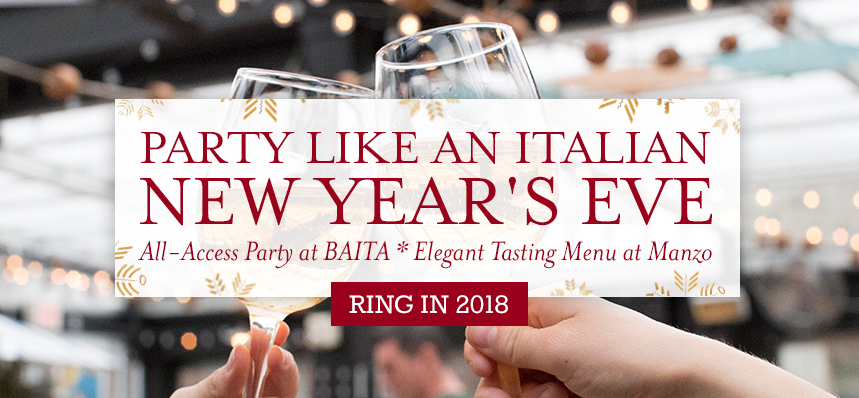 Party like an Italian on New Year's Eve