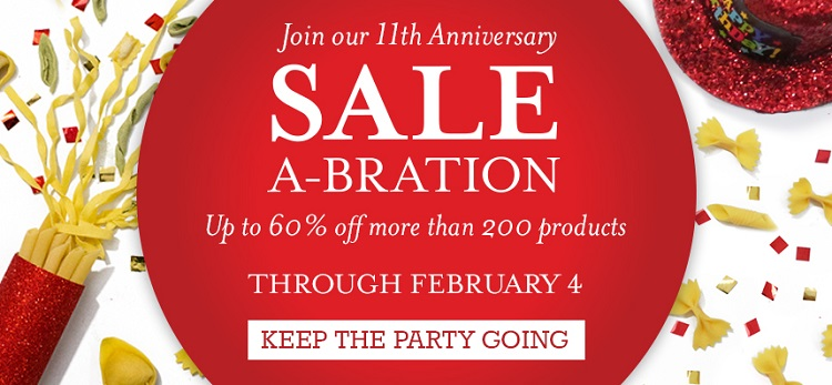Sale-a-bration Footer