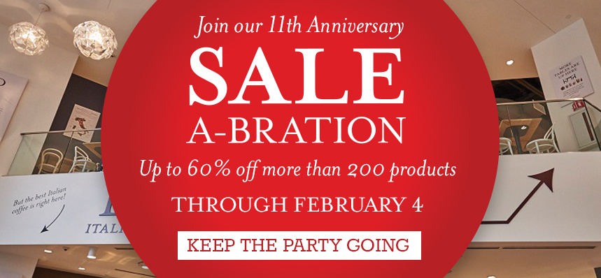 Sale-a-bration at Eataly Boston