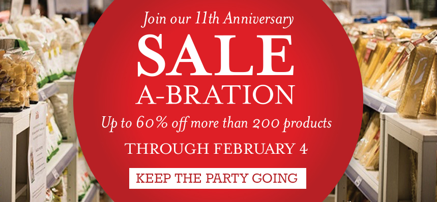 Sale-a-bration at Eataly NYC Flatiron
