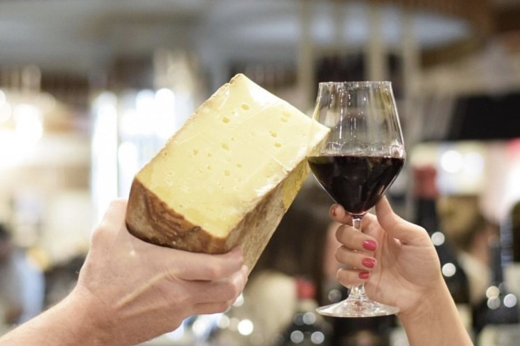 Guided Cheese & Wine Tastings
