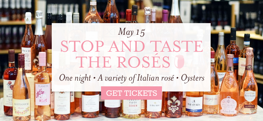 Stop and Taste the Rosés