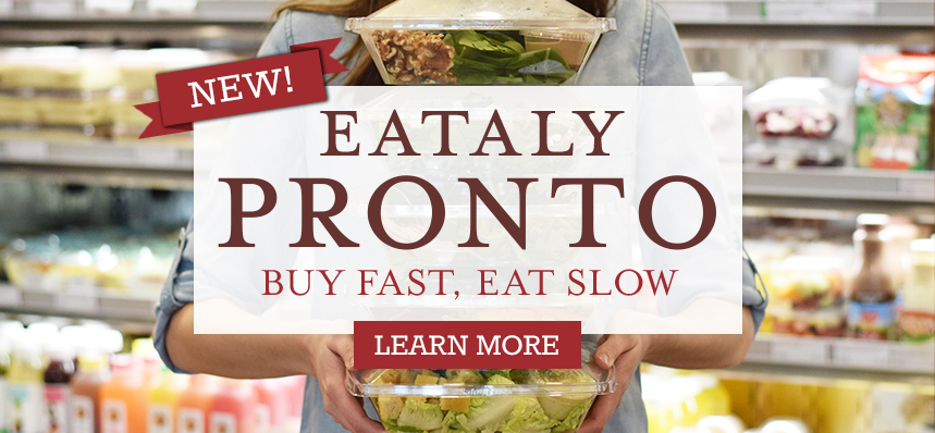 Buy Fast, Eat Slow at Pronto
