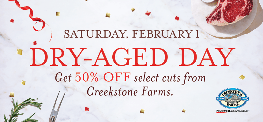 SALE-a-brate with Dry Aged Day!