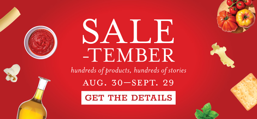 SALE-tember at Eataly Los Angeles