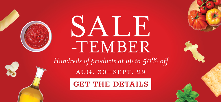 SALE-tember at Eataly Chicago