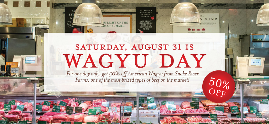 Start SALE-tember with Wagyu Day!