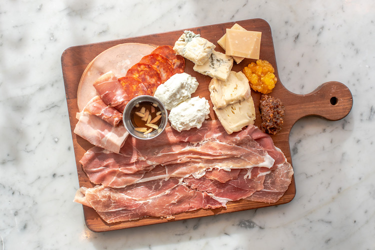 Eataly | Cured Meat and Cheese Board