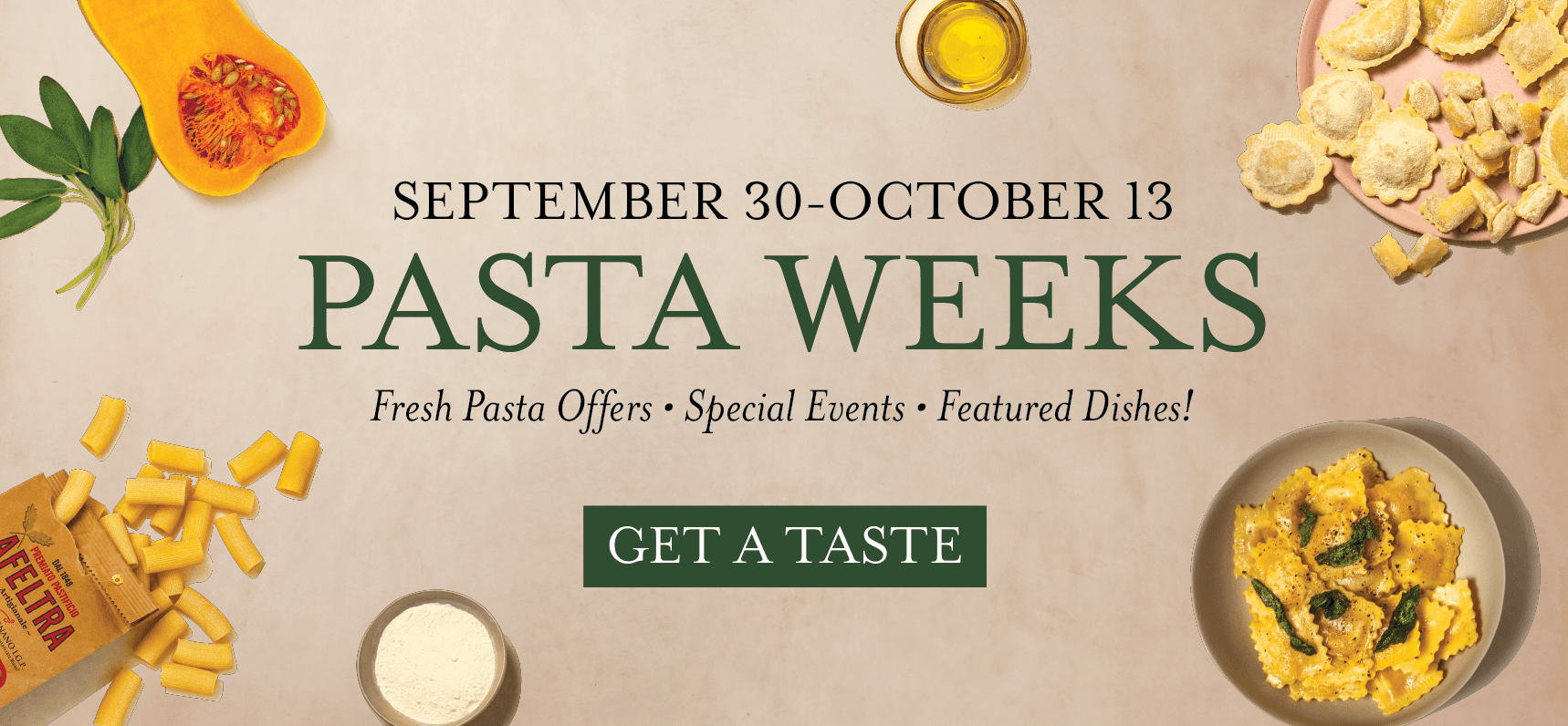 Pasta Weeks at Eataly NYC Downtown