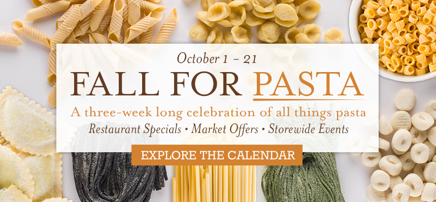 Fall For Pasta at Eataly NYC Flatiron