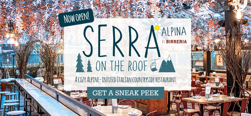 Winter is Coming to the Roof: SERRA ALPINA by Birreria