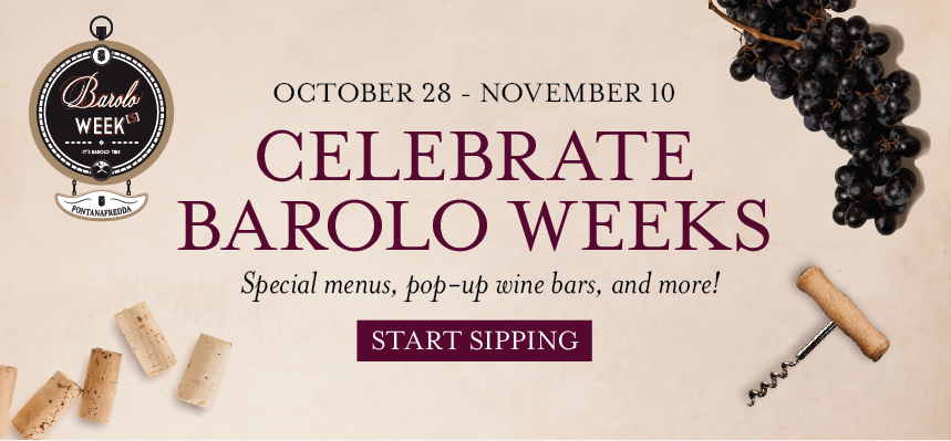 Celebrate Barolo Weeks at Eataly Boston
