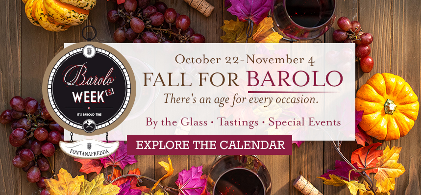 Fall For Barolo at Eataly NYC Downtown