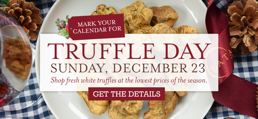Mark Your Calendar to Truffle Day at Eataly NYC Downtown