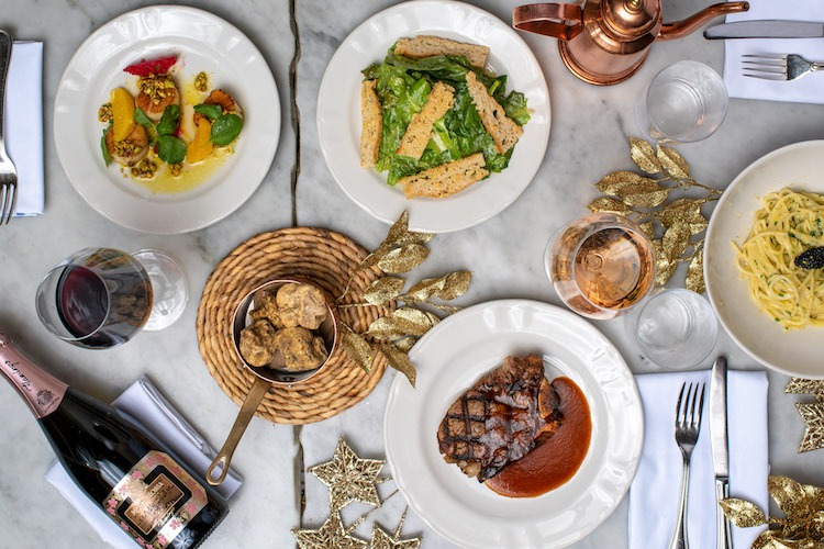 New Year's Eve Dinner at Manzo