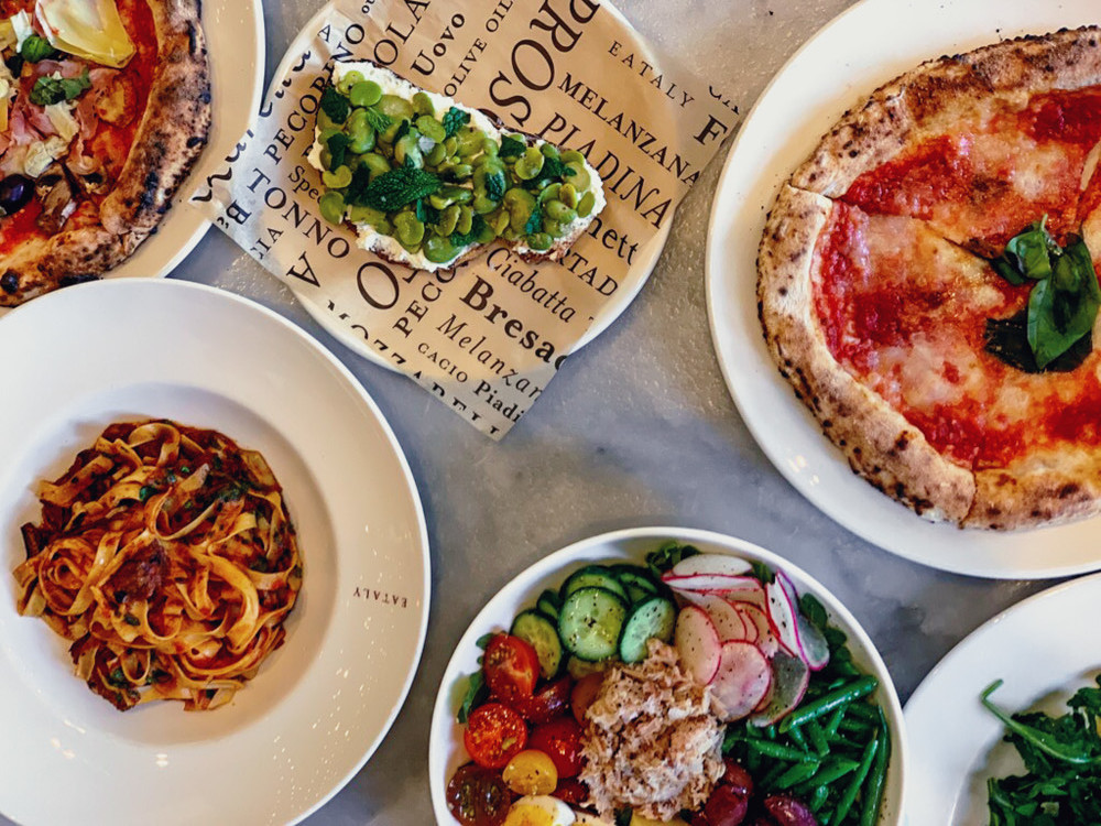 Quick Italian Lunch at Eataly Los Angeles