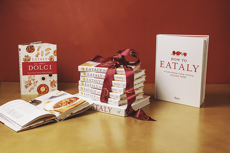 cookbooks at Eataly