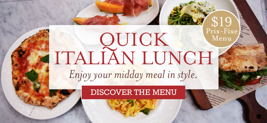 Quick Italian Lunch at Eataly L.A.
