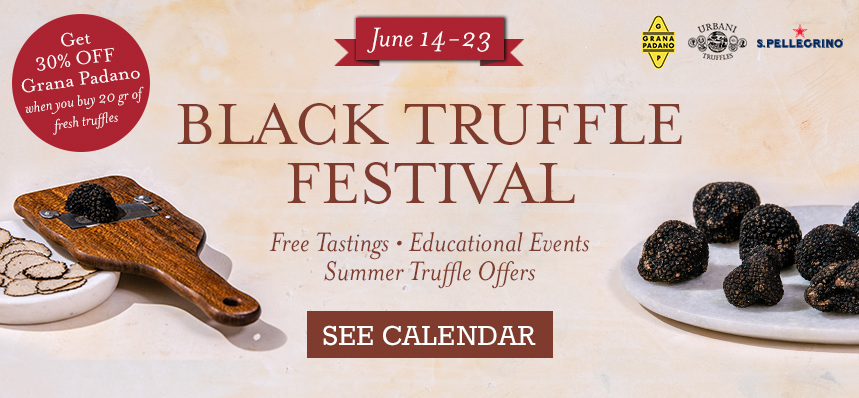 Black Truffle Festival at Eataly Chicago